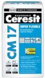 Эластичный плиточный клей Ceresit CM 17