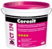 Силикатно-силиконовая декоративная штукатурка Ceresit CT 174